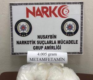 4 kilogram metamfetamin ele geçirildi
