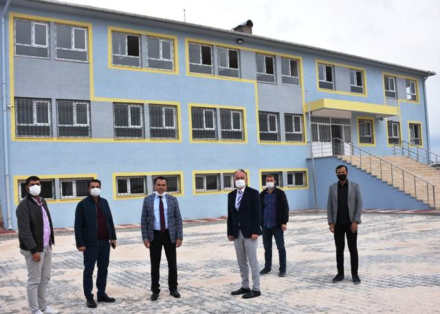 Dargeçit'te 3 okul eğitime hazır