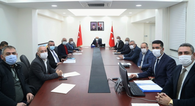 Vali Demirtaş Başkanlığında Toprak Koruma Kurulu Toplantısı
