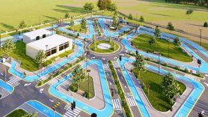 Çocuklar İçin Trafik Eğitim Parkı