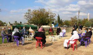 Dicle Elektrik Mardin İl Müdürü Homan muhtar ve çiftçilerle bir araya geldi