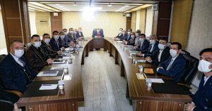 Mardin Büyükşehir Belediyesinin çalışmaları toplantıyla ele alındı