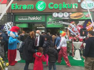 Ekrem Coşkun Döner 250'nci Şubesini Mardin'de Açtı