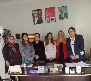 CHP Kadın Kolları  10 İlçede Örgütlendi