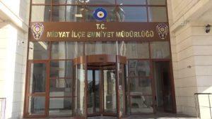 Midyat'a yeni emniyet binası ve araçları