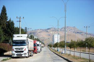 Mardin'de salgına rağmen ihracat arttı