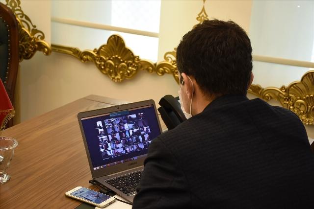 Nusaybin'de İlçe Milli Eğitim Müdürlüğü değerlendirme toplantısı