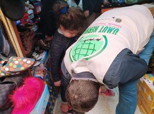 İhtiyaç sahibi ailelere yardım