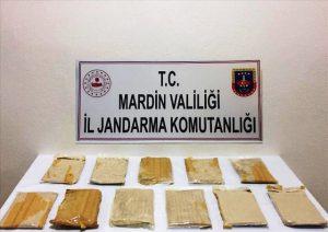 Diyarbakır, Mardin, Van ve Ağrı'daki operasyonlarda 525 kilogram esrar ele geçirildi