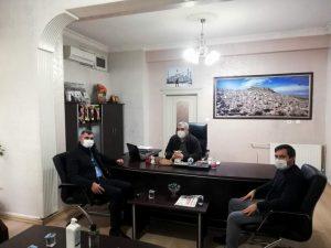 AK Partiden gazetemize nezaket ziyareti