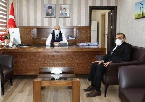 Başkan Dişkaya'dan Vali Demirtaş'a Ziyaret