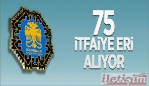 Belediyeye 75 İtfaiye Eri Alınacak