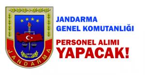 Jandandarma Genel Komutanlığı 5 bin personel alacak
