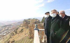 Bakan Yardımcısı Demircan Mardin Kalesinde İncelemelerde bulundu