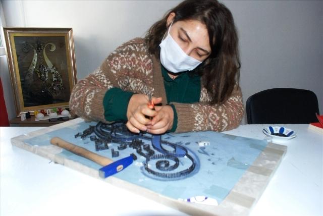 Midyatlı kadınlar belediyenin  merkezinde eğitim alıyor