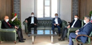 Başkan Kılıç'tan Milli Eğitim Müdürü Polat'a Ziyaret