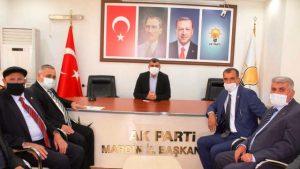 Türkiye Muhtarlar Federasyonundan Başkan Kılıç'a Ziyaret