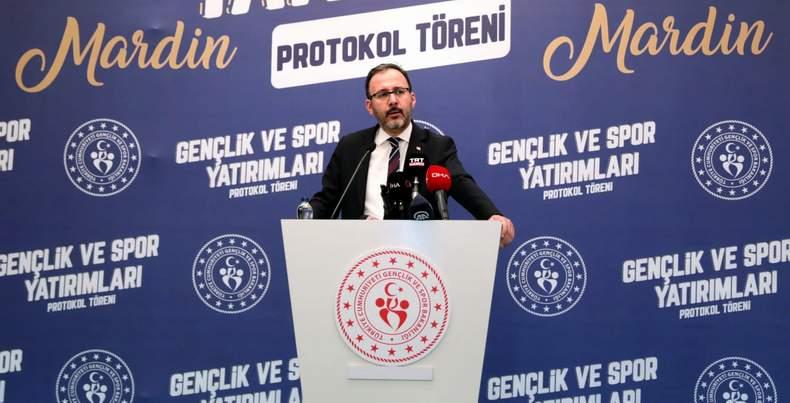 """Bakan Kasapoğlu : """"Bu kardeşlik tablosunu hiç kimse engelleyemeyecek"""""""