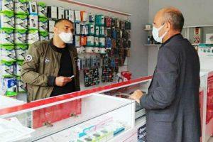 Mazıdağı İlçe Başkanı Yetiştiren'den Esnafa Ziyaret