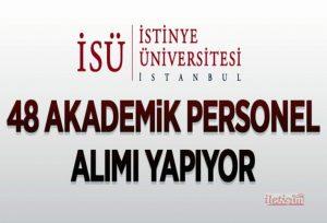 48 akademik personel alınacak