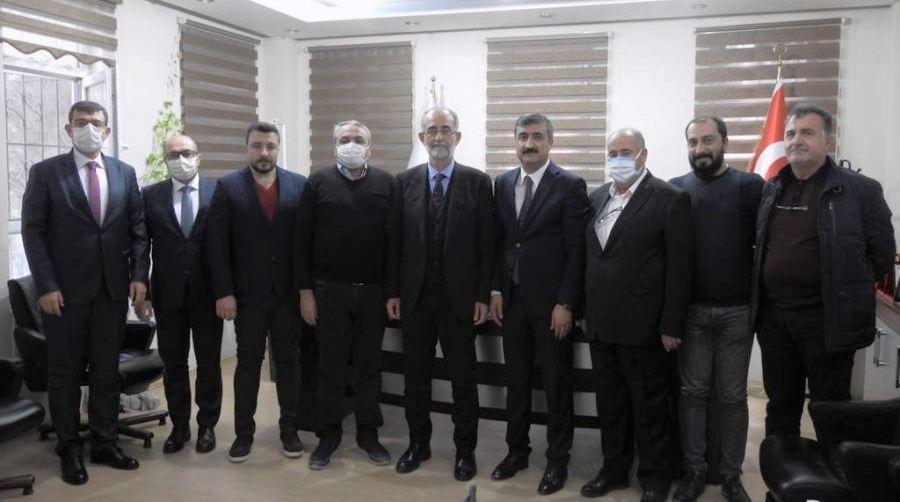 Halk Bankası Yönetim Kurulu Başkanı Özdil Mardin'e Geldi