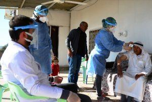 Sağlık neferlerinden sınırın sıfır noktasında aşı çalışması