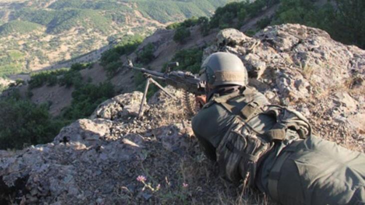 Terör örgütü PKK'ya  yönelik başlatılan  operasyon tamamlandı