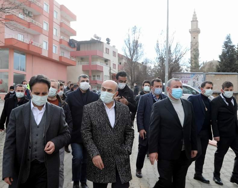 Vali Demirtaş, Midyat'ta incelemelerde bulundu