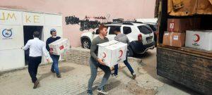 İdlib için toplanan yardımlar teslim edildi