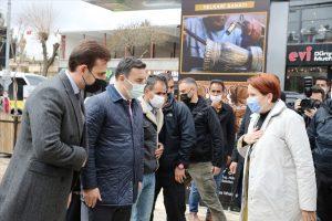 İYİ Parti Genel Başkanı Akşener Mardin'de ziyaretlerde bulundu