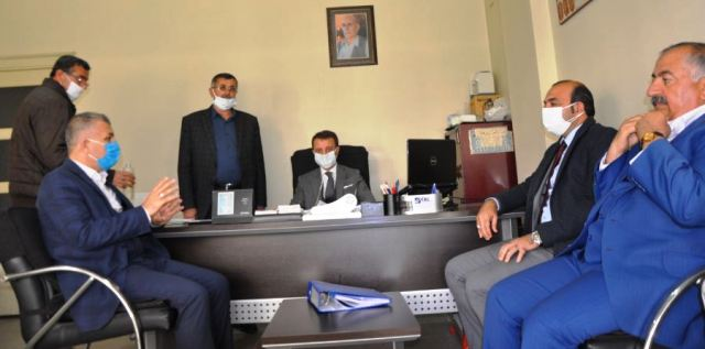 """Öter, """"Hububat Ticaret merkezi Mardin ve bölge pazarı konumundadır"""""""