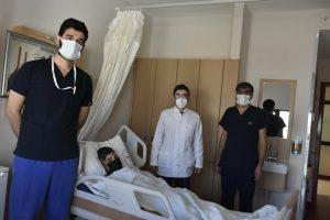 Mardin'de ilk defa böbrek taşı ameliyatı yapıldı