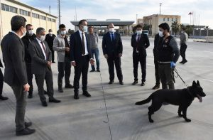 """Narkotik dedektör köpeği """"Bara""""  kaçakçılara göz açtırmayacak"""