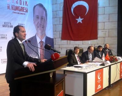 Yeniden Refah Partisi Genel  Başkanı Erbakan: çiftçi ve esnaf  daha fazla desteklenmeli