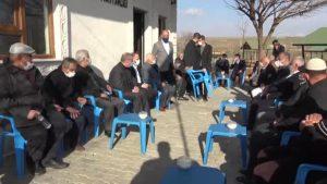 Midyat'ta husumetli  aileler barıştırıldı