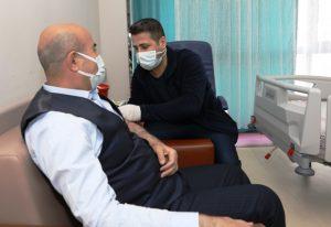 Vali Demirtaş, Covid-19 Aşısı Oldu