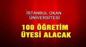 100 Öğretim Üyesi alınacak