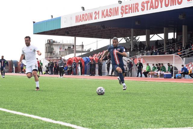Mardin Fosfat Spor 3 puanın sahibi