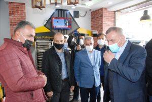 Midyat Belediye Başkanı  Şahin, esnafı ziyaret etti