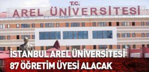 Arel Üniversitesi öğretim elemanları alacak