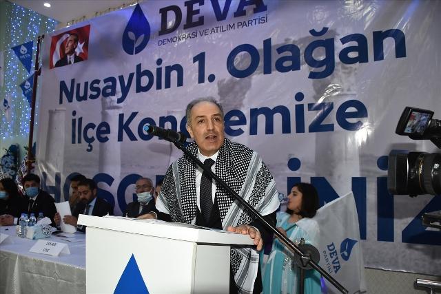 DEVA Partisi'nin Nusaybin ilçe kongresi yapıldı