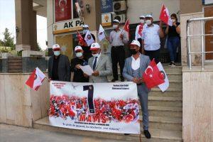 Mardin'de HAK-İŞ'in 1 Mayıs bildirisi okundu