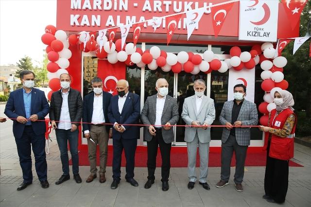 Mardin'de kan bağış merkezi açıldı