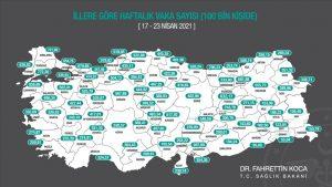 Mardin'de Kovid-19  vaka sayısı arttı
