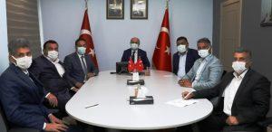 Vali Demirtaş, Muhtarlar  Dernek Başkanları İle Görüştü