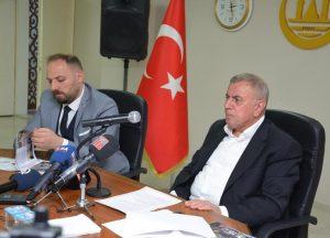 Başkan Şahin projelerini basına anlattı