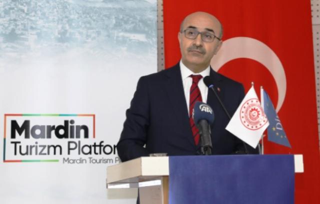 """Vali Demirtaş, """"Mardin'i turizm sektöründe  yeni bir döneme geçiriyoruz"""""""