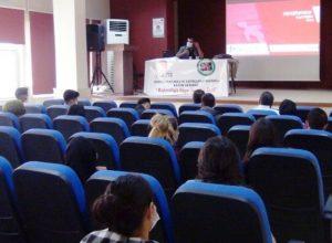 """Kızıltepe'de """"Bağımlılığa Hayır Yaşama Evet Projesi"""" kapsamında eğitim verildi"""