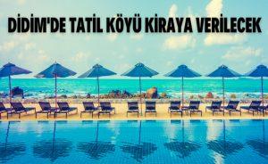 Tatil Köyü Kiraya Verilecek