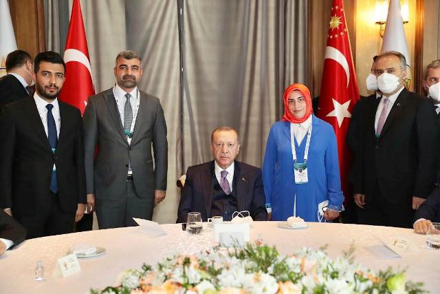 Cumhurbaşkanı Erdoğan'a Tıp Fakültesi Teşekkürü